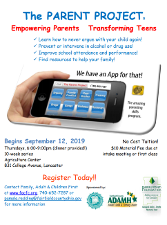 Parent Education Cooperative - Family, Adult and Children First